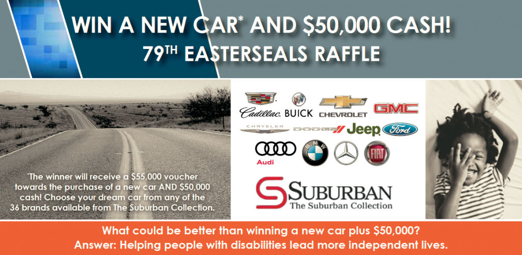 Win your dream car and 50 000 79th easter seals raffle for Troy motor mall gmc